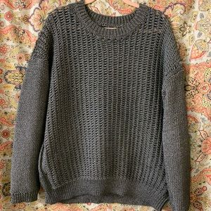 Metallic TopShop sweater